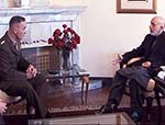 Dunford Meets Karzai in Kabul
