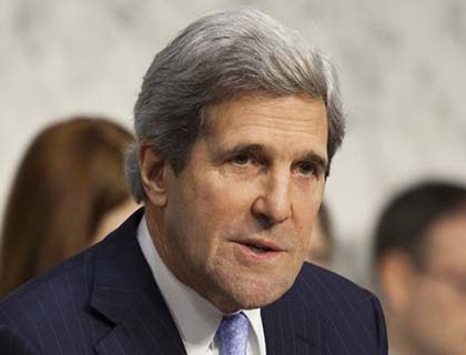 Kerry has 'Big Heels to Fill' at State Dep't