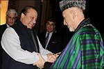 Karzai Discuses Pakistani Shelling with Sharif