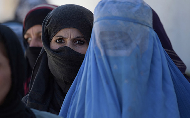Alignment of Afghan Women with Women's March in January