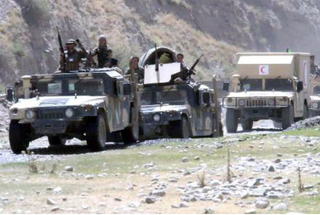 Badakhshan Forces Waiting for Order to Launch Offensives