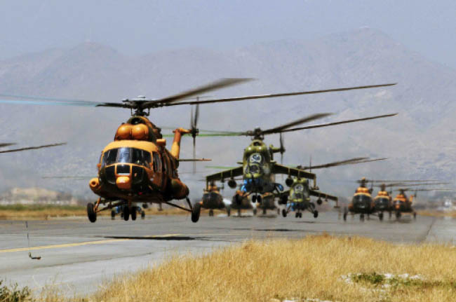 Govt. to Spend $6bn on Afghan Air Force: Ghani