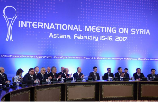 New Syrian Peace Talks Planned for March 14 in Kazakhstan: Agencies