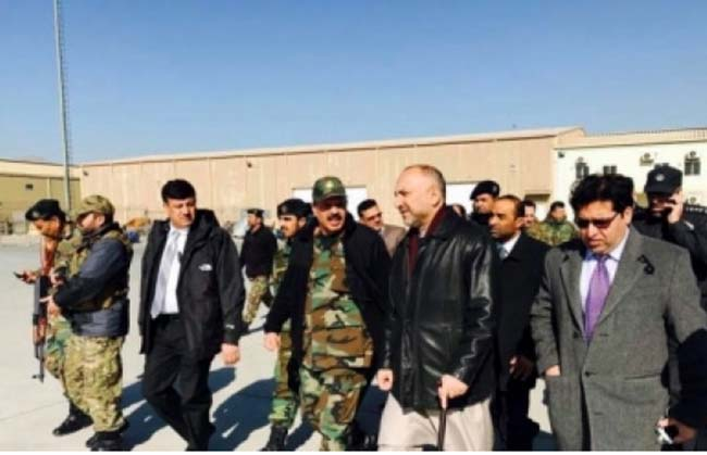 Atmar in Kandahar as  Ghani Orders thorough Probe into the Terror Attack