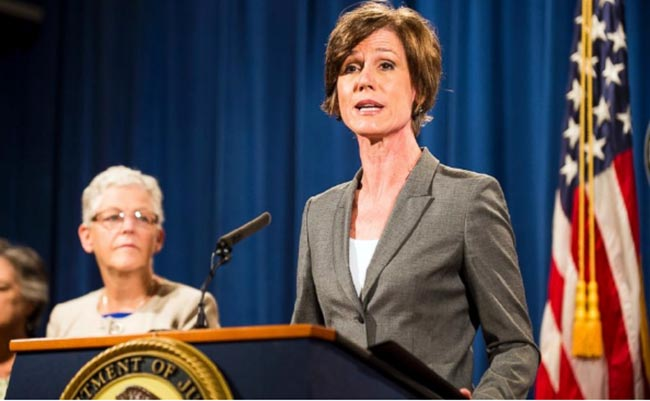 Trump Sacks Acting Attorney General for Refusing to Enforce Immigration Order