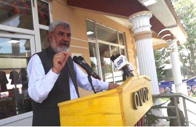 Lopsided Uplift Forcing People to Join Militants: Durrani