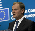EU's Tusk Calls on May to Press Ahead with Brexit Talks