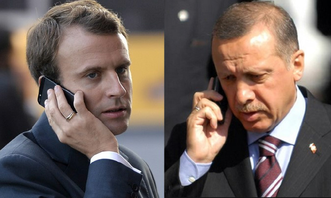 Turkish, French Presidents Discuss Syria, Iraq Issues via Phone
