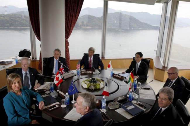 G7 FMs, Middle East Allies Discuss Syria in Extraordinary Meeting