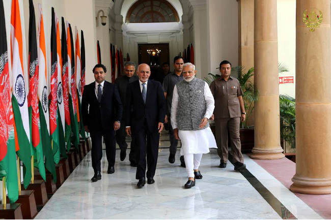 Ghani Highlights  India's Importance on Economic