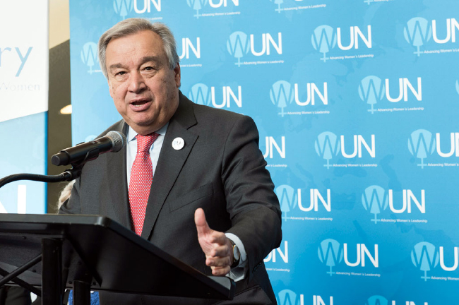 UN Chief Deplores Rights Violations in Conflicts, Condemns Extremism