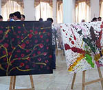 Artworks at Balkh Exhibition Evoke Thought in Viewers