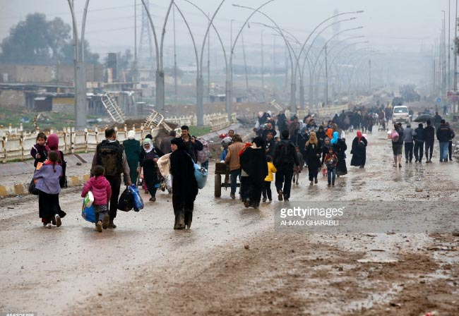 Almost 600,000 Flee West Mosul Amid Ongoing Military Operations: UN Data