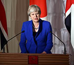 "EU Repeal Bill Best Way to Avoid Brexit 'Cliff Edge'"" May"