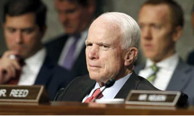 McCain Unveils Afghan Strategy,  Calls for Civil Military Approach