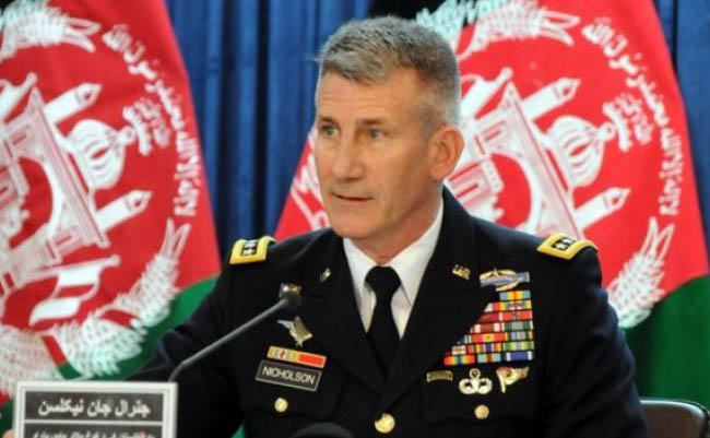 Safe Havens outside Afghanistan Must be Dismantled: Nicholson