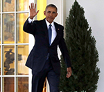 Barack Obama Leaves Oval  Office for Last Time