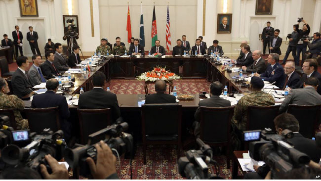 Four-Way Afghan Peace Talks Set to Resume in Oman
