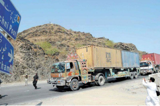 New Rules Hinder Trade with  Afghanistan at Torkham