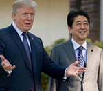 Trump in Japan for 1st Stop of Asian  Tour, Security, Trade in Focus