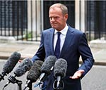 Brexit Negotiations Not Ready for Next Stage Yet, EU's Tusk Says