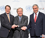 UN Chief Arrives in Swiss Town to Push Forward Peace Talks on Cyprus