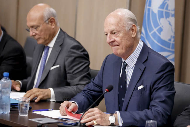 UN Envoy Launches New Round of Syria Talks Amid Cease-Fire