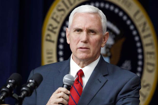 New Strategy will Undo Past Failures: Pence