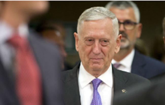 Mattis Criticized Pentagon Waste of $28 Million on ANSF Uniforms