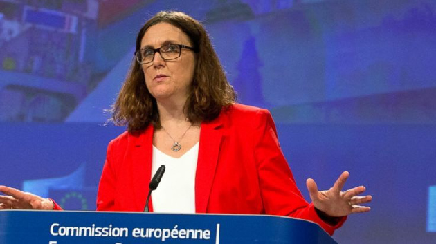 EU Trade Chief Says US Was  Warned of Tariff Consequences