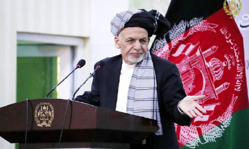 Ghani Rules out Privatization of War, Plunder of Resources