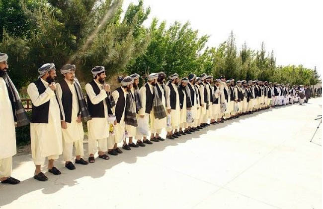 Afghanistan Frees 75  Hizb-E-Islami Prisoners