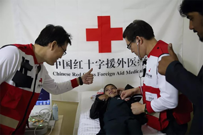 "China and Afghanistan are ""Heart to Heart"" Brothers, Saving the Heart and the Children Admits of No Delay"
