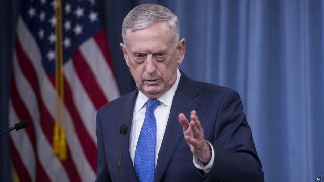 At Odds With Bolton on North Korea,  Mattis Appears Isolated