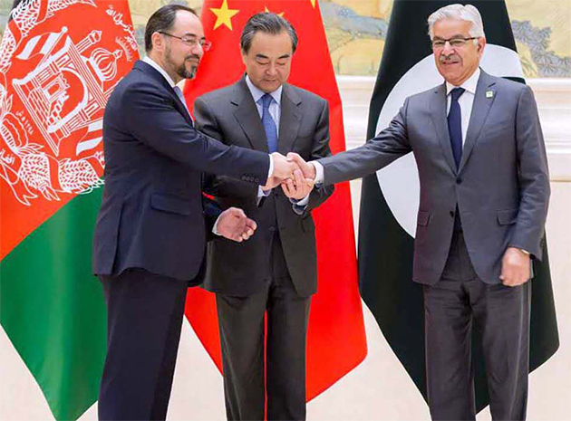 China's Role in Building Trust  between Afghanistan and Pakistan