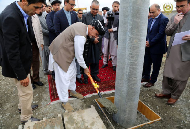 President Ghani Inaugurates Several Projects in Khost