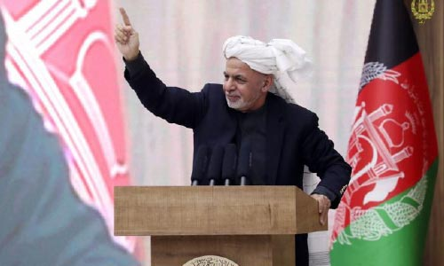 No Peace Deal Against  People's will, Pledges Ghani