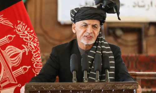 Ghani Slams 'Brutal Terrorists' after Classroom Attack