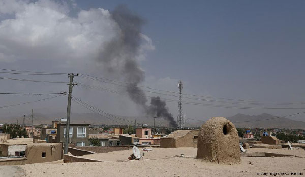Intense Fighting in Ghazni  City As Taliban Presses