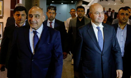 Iraq's President Takes Office,  Independent Tapped as PM
