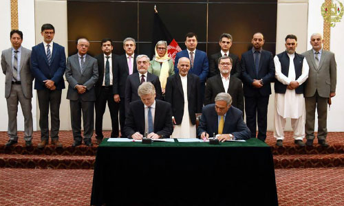 MoU Signed for €18.058m Socio-Economic  Project to be Implemented Along Kabul River