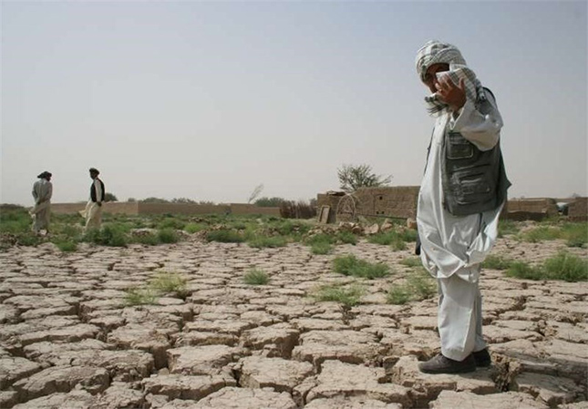 Afghanistan : Drought and climate  change effects