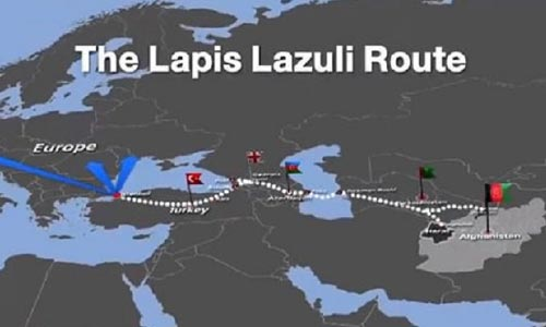 First Export Shipment Set  for Lapis Lazuli Route
