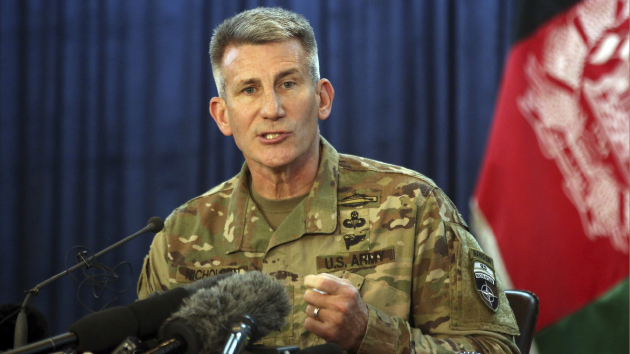 U.S. General Says  Remarks on Afghan Peace  Talks 'Mischaracterized'