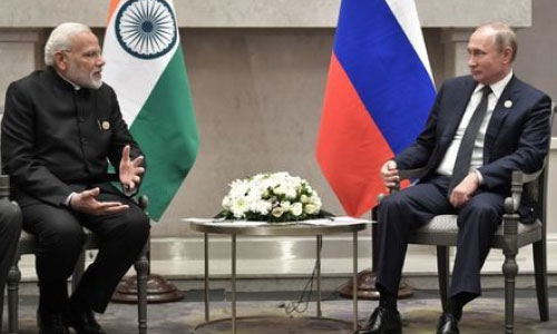 Russia's Putin to Discuss  Military Cooperation on India Visit: Kremlin