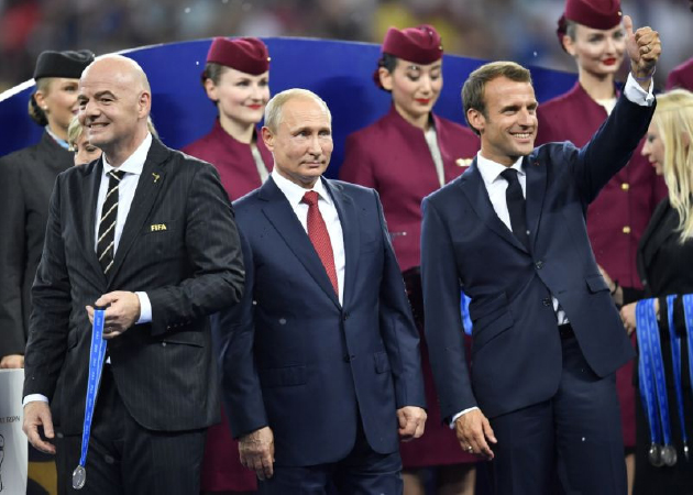 Putin: 25 Million Cyber attacks  Thwarted During World Cup