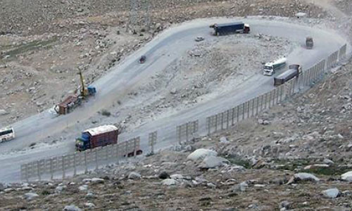 Road Works Underway on Salang Pass