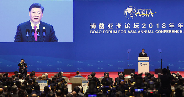 Chinese President: Build A Community  With Shared Future