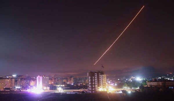 Syrian Air Defences Engage 'Enemy Target'
