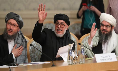 Taliban Seek International Guarantee for Possible Peace Accord